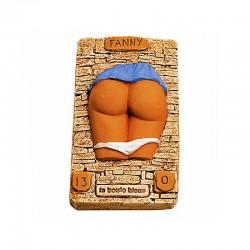 Fanny bas relief la boule bleue