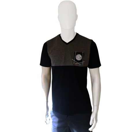 Tee-Shirt Homme Bicolore OBUT